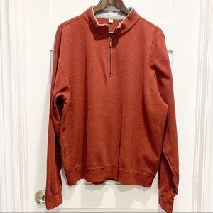 Peter Millar 1/4 Zip Pullover 100% Cotton Sweater
